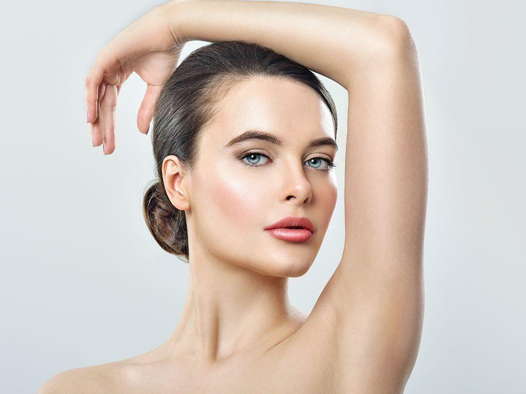 Koltuk altı terleme botoksu ile aşırı terleme tedavi edilmektedir.