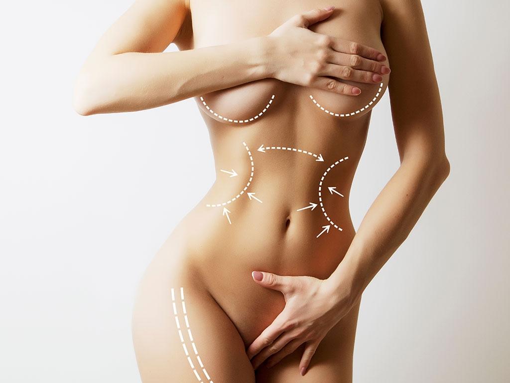 Vücut estetiği ameliyatları ile vücut şekillendirme yapılmaktadır.